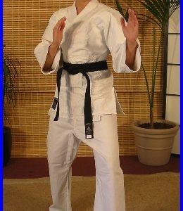 White MedWt Judogi 650 - 750gm