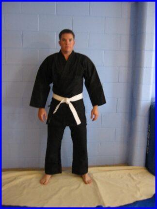 Black Heavywgt 16oz Karate Gi's