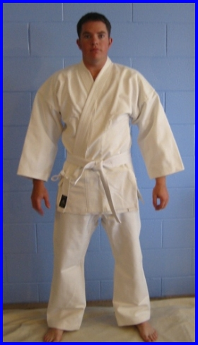 White Medium Wgt 12oz Karate