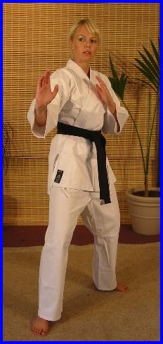 White lightweight 7.5oz & 8.5oz Karate