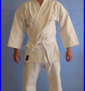 White Heavywgt 16oz Karate Gi's