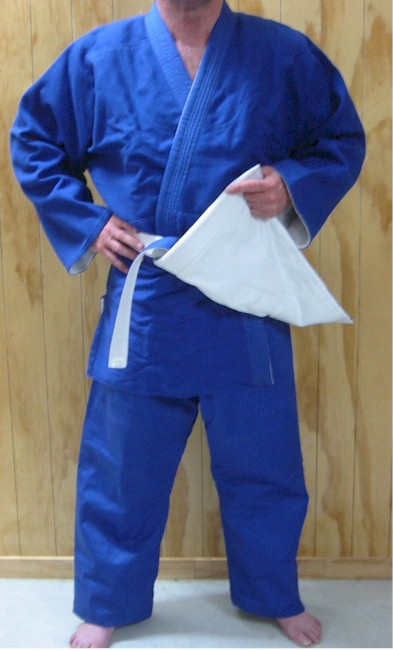 Reversible Competition Judo Gi Size 5/180 Plain P