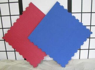 Mats for Dojo Jigsaw Red & Blue 25mm
