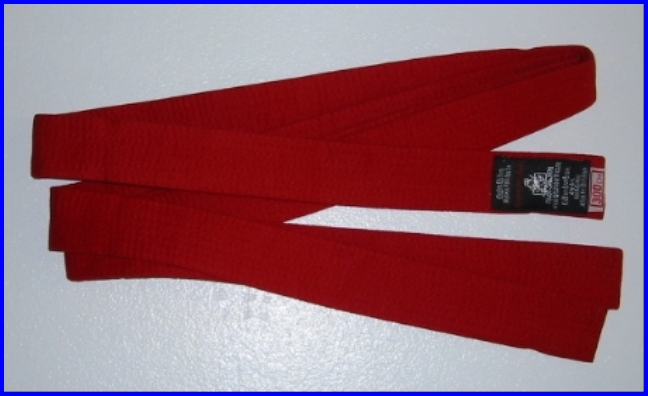 Belt Red 2.3m x 40mm
