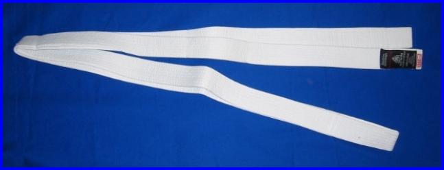 Belt White 2.3m x 40mm