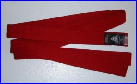 Belt Red 2.7m x 40mm