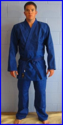 Judogi Midweight Blue 3/160