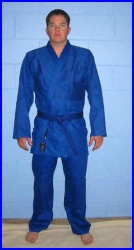 Judogi Midweight Blue 5/180 650gm