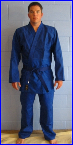 Judogi Midweight Blue 6/190