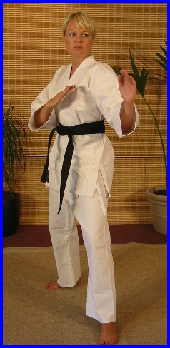 White Karate Cotton Gi 7.5oz 2/150