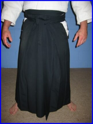 Hakama Black Size 29 Intermediate