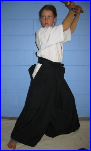 Hakama Black Size 25 Entry Level