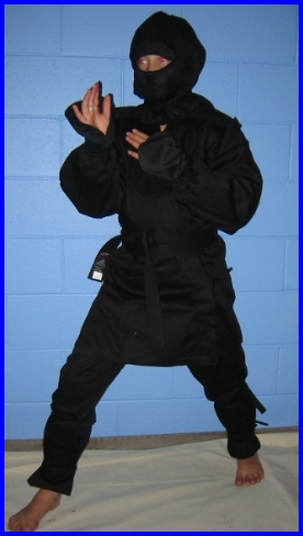 Ninja -Tai-Jutsu Uniform Lightweight 3/160