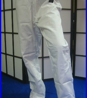 Trousers - White Elasticated 7/200