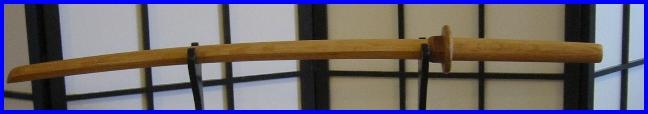 """Katana Handmade AA Grade w wood Tsuba 40"""" Y"""