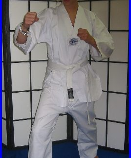 Tae-Kwon-Do  WTF Style All White Size 0/130