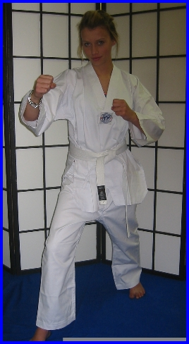 Tae-Kwon-Do  WTF Style All White Size 2/150