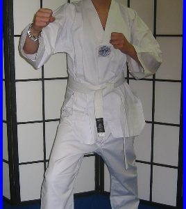 Tae-Kwon-Do  WTF Style All White Size 5/180