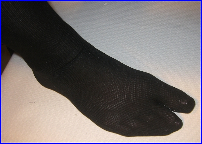 Tabi Sock Pair Black