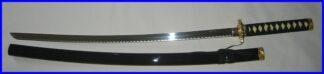 Iaito Katana Black Tsuka Stainless Decorative Sword