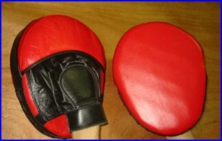 Pad Focus  Small Size leather Red & Black