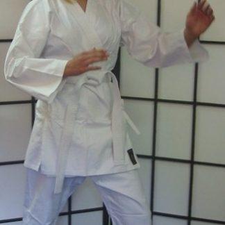 White Karate Cotton Gi 8.5oz 1/140