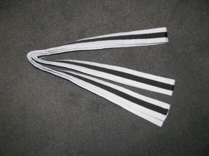 White belt with black Stripe  3.2m