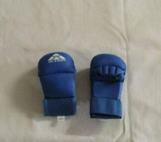 Gloves Lightweight PU Sparring Mitt Blue Small