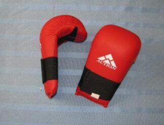 Mitts Karate /TKD PU Red Small