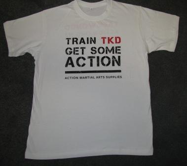 T-Shirt TKD Action