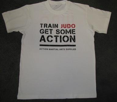 T-Shirt Judo Action