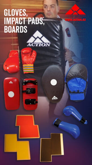 Gloves, Pads, Boards